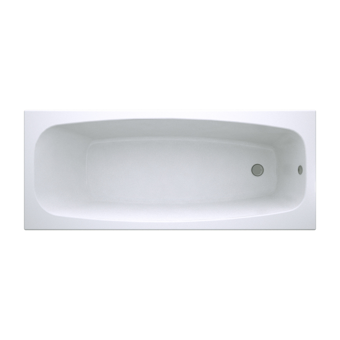Ванна акриловая, 170х70 см, Carlow , IDDIS, CAR1770i91