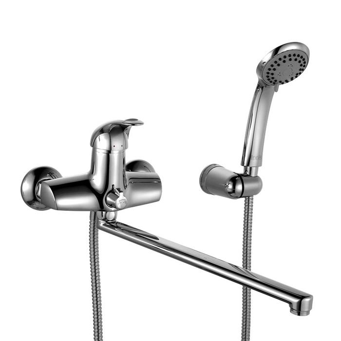 Смеситель для ванны с длинным изливом с керамическим дивертором,  Carlow, IDDIS, CARSBL2i10
