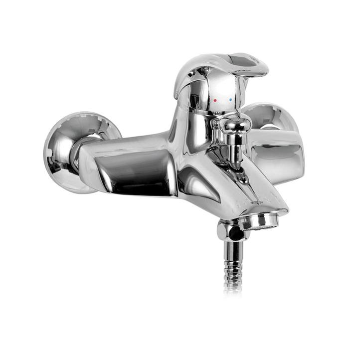 Смеситель для ванны, CQ23068CK, Carlow, шланг, лейка, держатель