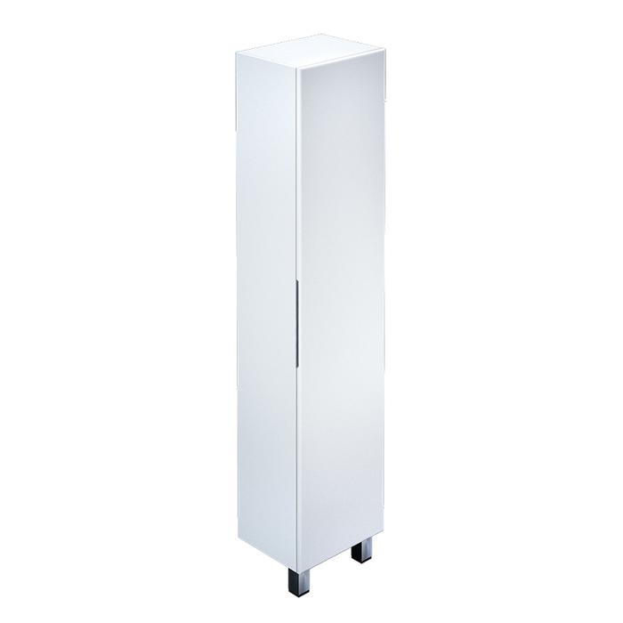 Пенал для ванной комнаты, напольный, белый, 40 см, Custo, IDDIS, CUS40W0i97