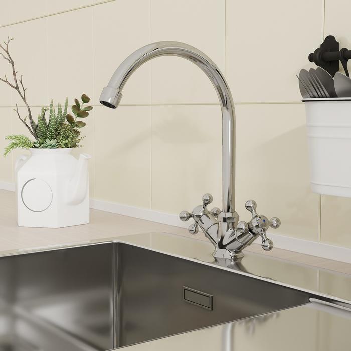 Смеситель для кухни, Duplex, Milardo, DUPSB0JM05
