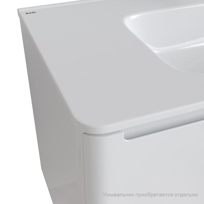 Тумба подвесная, белый, 100 см, Edifice, IDDIS, EDI10W1i95. Подходит умывальник 0101000i28