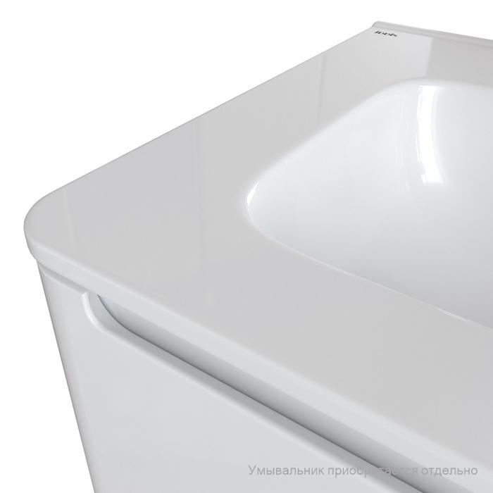 Тумба подвесная, белый, 60 см, Edifice,  IDDIS, EDI60W0i95. Подходит умывальник  0106000i28