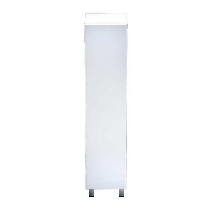 Пенал для ванной комнаты, напольный, белый, 40 см, Harizma, IDDIS, HAR4000i97
