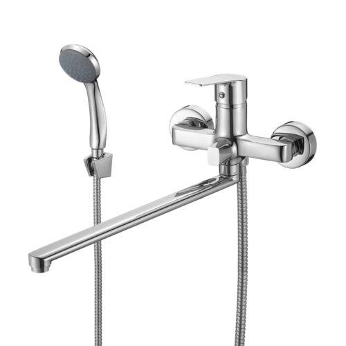 Смеситель для ванны с длинным изливом, Helic, Milardo, HELSB02M10