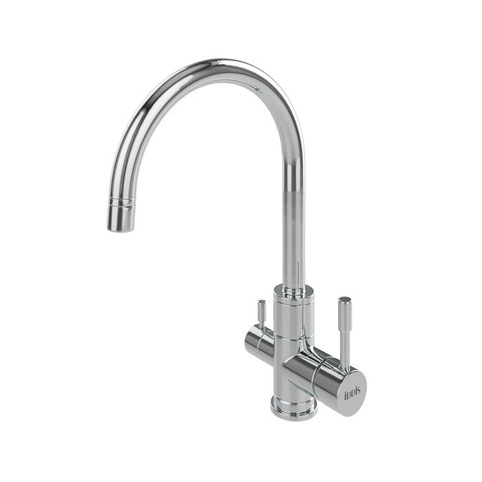 Смеситель для кухни с каналом для фильтрованной воды, бессвинцовая латунь, Kitchen F, IDDIS, KF20SBJi05