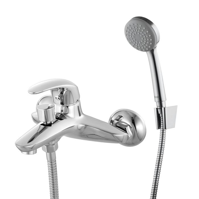 Смеситель для ванны, Leaf, IDDIS, LEASB00i02