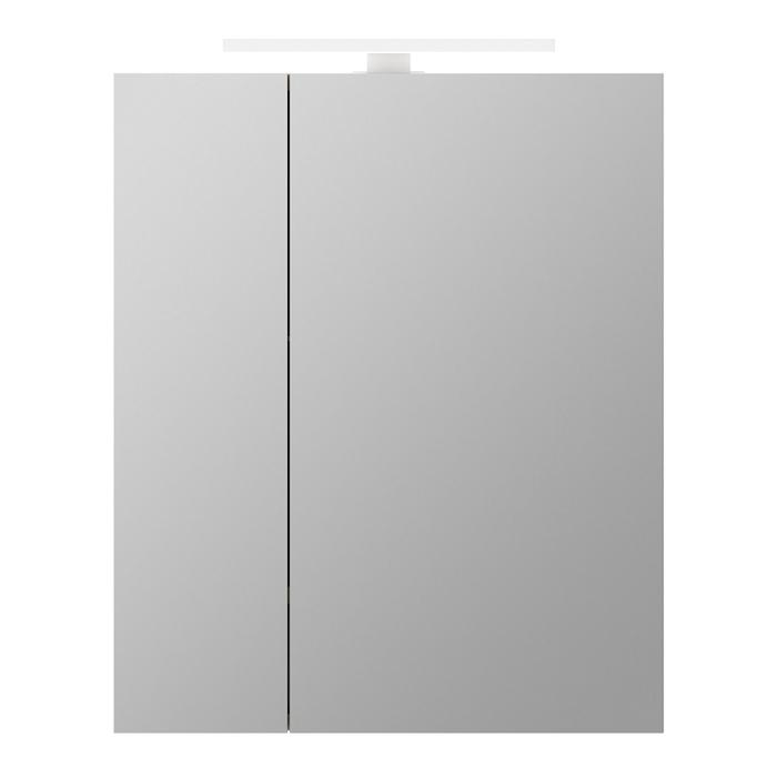 Шкаф-зеркало, 50 см, двухдверный, Mirro, IDDIS, MIR5002i99