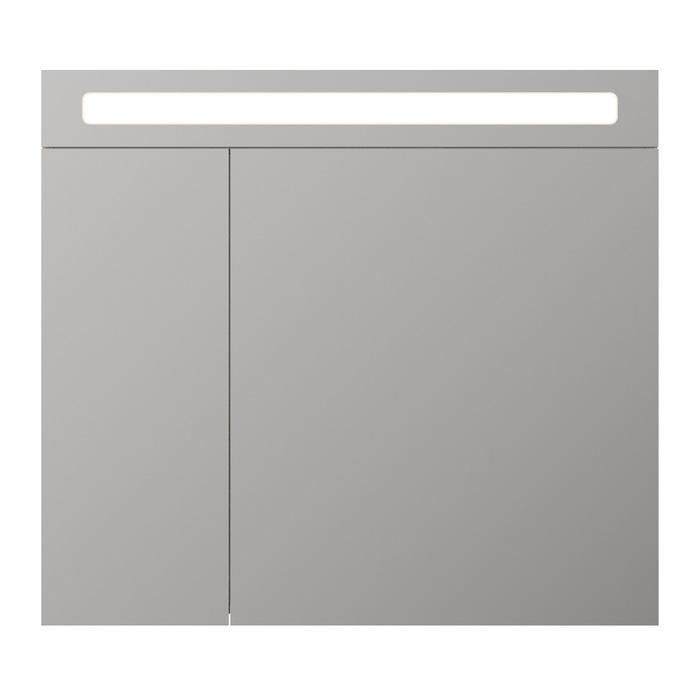 Шкаф-зеркало 80 см, Mirro, IDDIS, MIR80N2i99