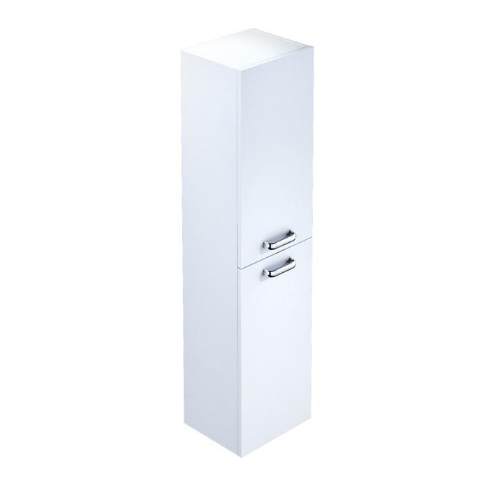 Пенал для ванной комнаты, подвесной, белый, 35 см, Niagara, Milardo, NIA3500M97