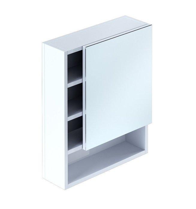 Шкаф-зеркало, 50 см, Niagara, Milardo, NIA5000M99