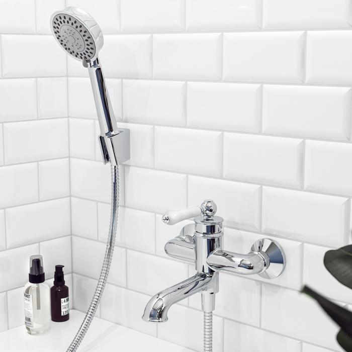 Смеситель для ванны с керамическим дивертором, Oxford, IDDIS, OXFSB02i02