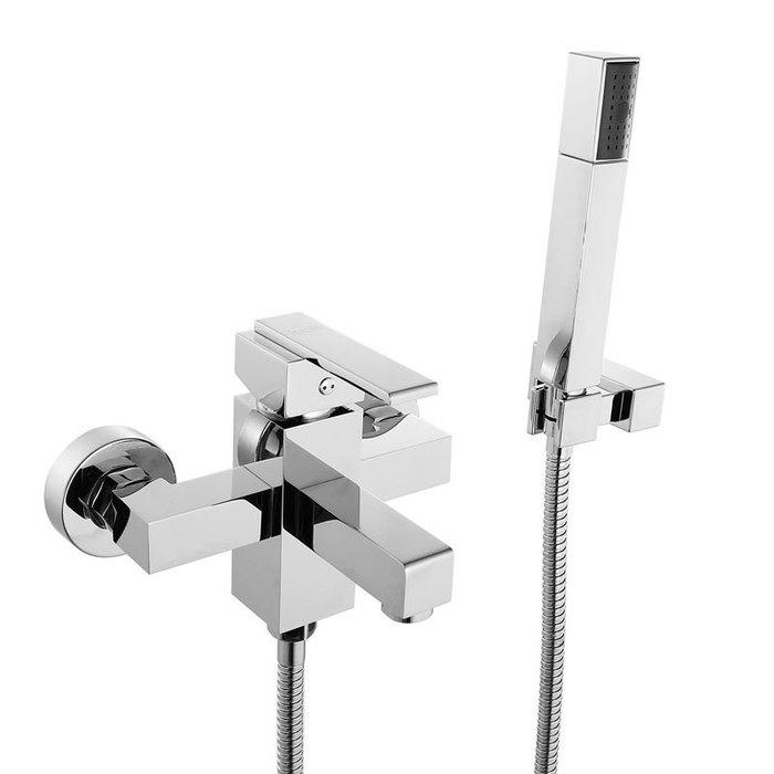 Смеситель для ванны, QM23A97CK, Neisse, шланг, лейка, держатель