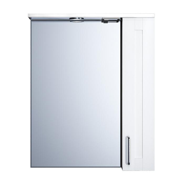 Шкаф-зеркало, 60 см, Sena, IDDIS, SEN6000i99