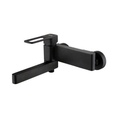 Смеситель для ванны, черный, Slide, IDDIS, SLIBL00i02WA
