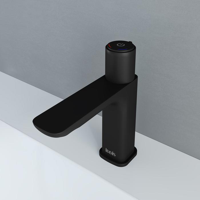 Смеситель для умывальника с инновационным управлением Push Control, Slide, IDDIS, SLIBLBTi01