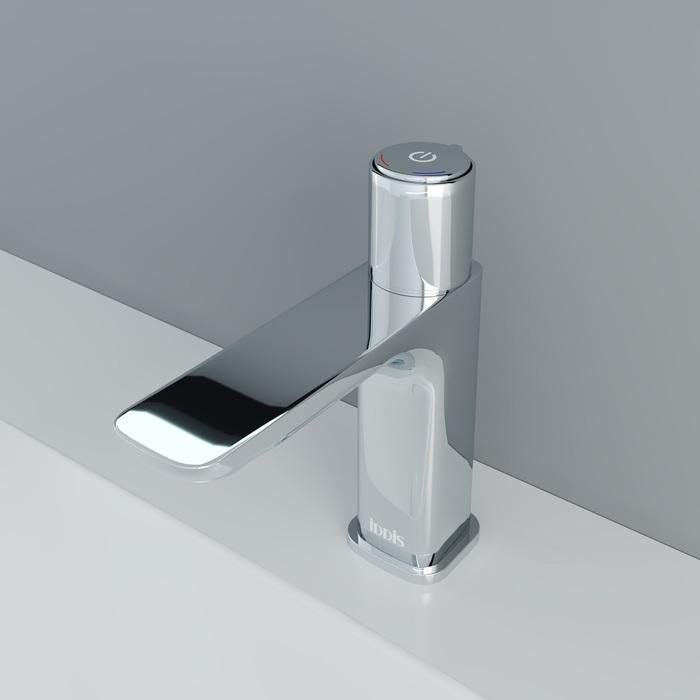 Смеситель для умывальника с инновационным управлением Push Control, Slide, IDDIS, SLISBBTi01