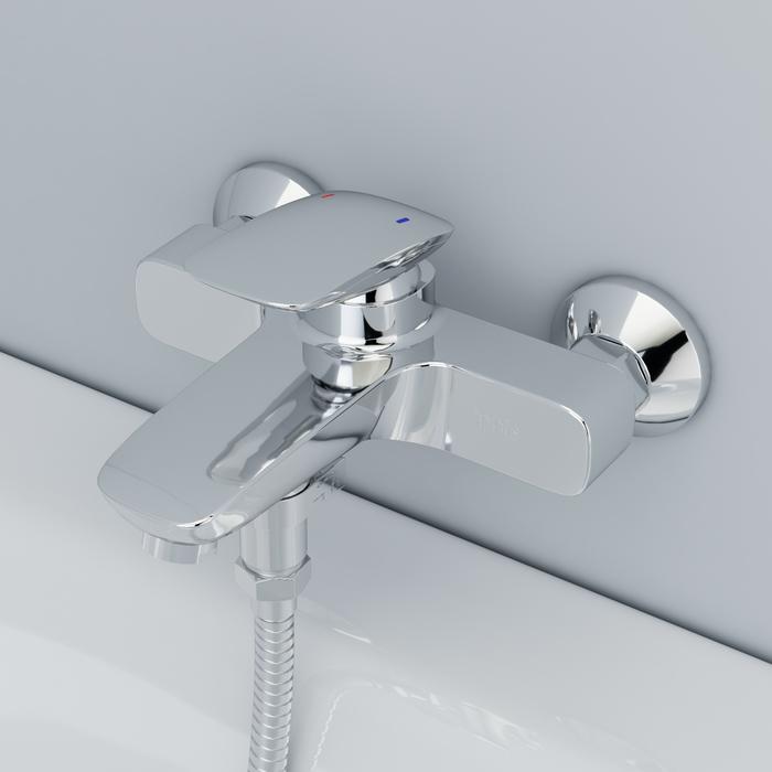 Смеситель для ванны, Stone, IDDIS, STOSB00i02WA