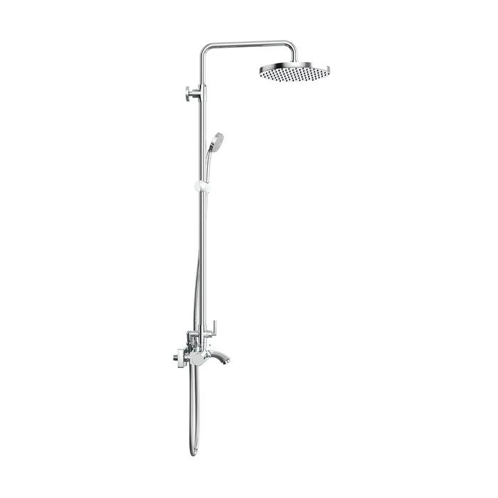 THESBBTi06, Смеситель для ванны с термостатом с верхним душем, Thermolife, ID