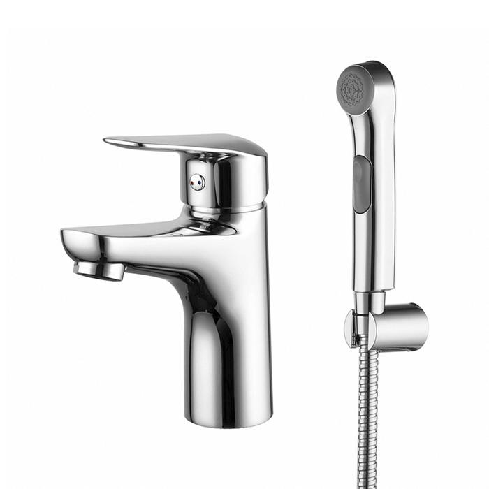 Смеситель для умывальника с гигиеническим душем, Torr, IDDIS, TORSB00i08