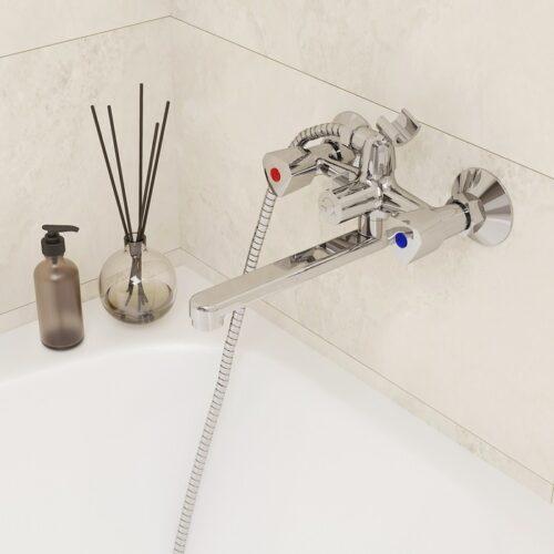 Смеситель для ванны, Tring, Milardo, TRISB02M02