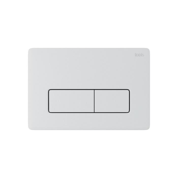 Клавиша смыва, универсальная, глянцевый белый, Unifix, 010, IDDIS, UNI10W0i77