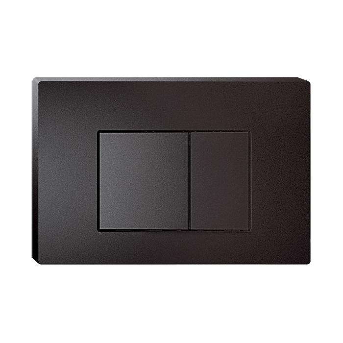 Клавиша смыва,универсальная, матовый черный, Unifix, 031, IDDIS, UNI31MBi77