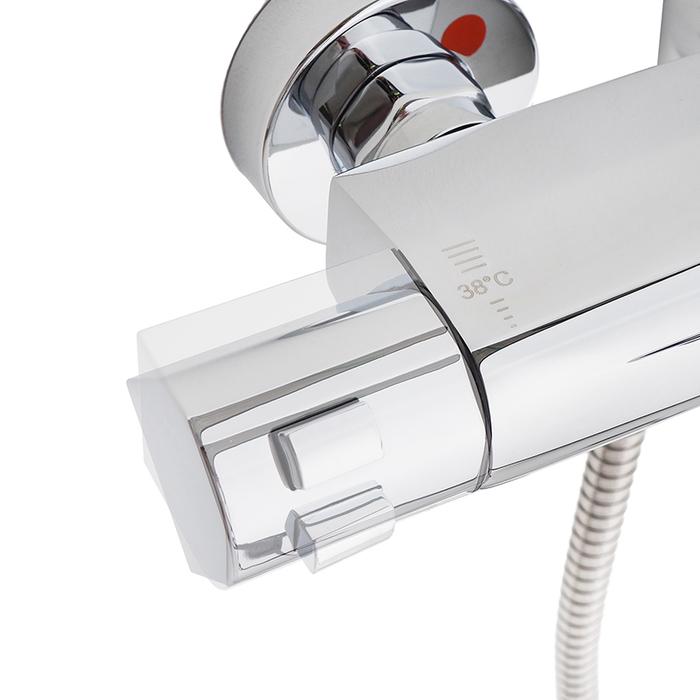 Универсальный смеситель для ванны с термостатом, Uniterm, IDDIS, UNISB00i74