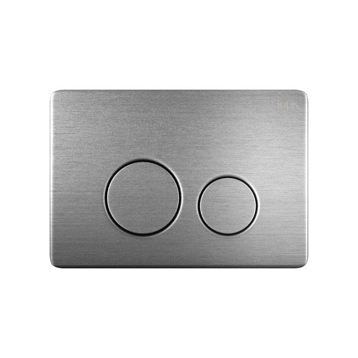 Клавиша смыва, универсальная, нержавеющая сталь, Unisteel, 010, IDDIS, UNS10S0i77