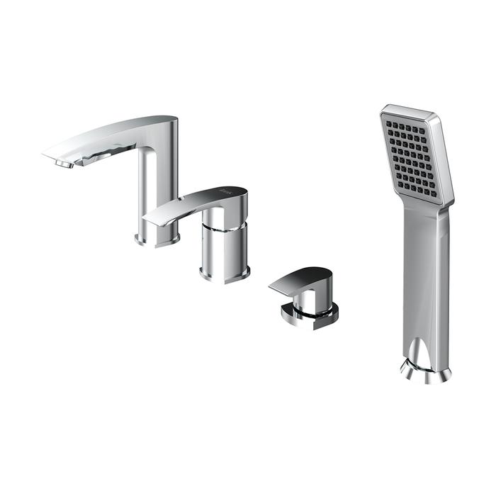 Смеситель для ванны на 4 отверстия, Vane, IDDIS, VANSB40I07