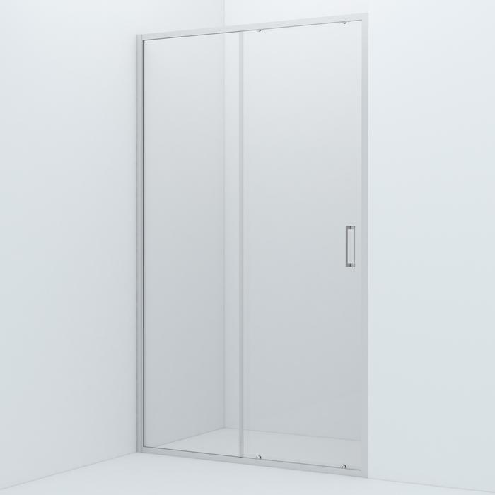 Душевая дверь, глянцевый ал. проф., 120х195, Zodiac, IDDIS, ZOD6CS2i69