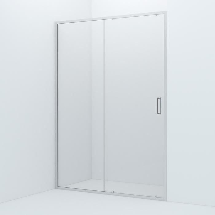 Душевая дверь, глянцевый ал. проф., 140х195, Zodiac, IDDIS, ZOD6CS4i69