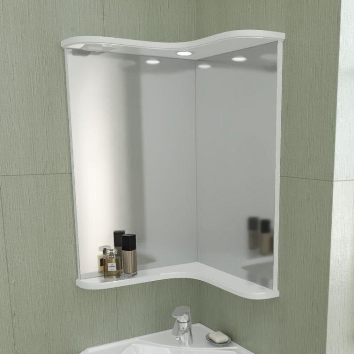 Зеркало СаНта Аврора 60 угловое 116001