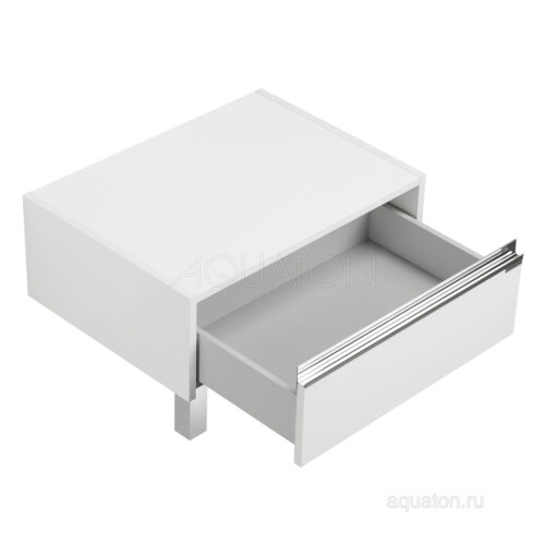 Комод Aquaton Капри 60 белый глянец 1A231003KP010