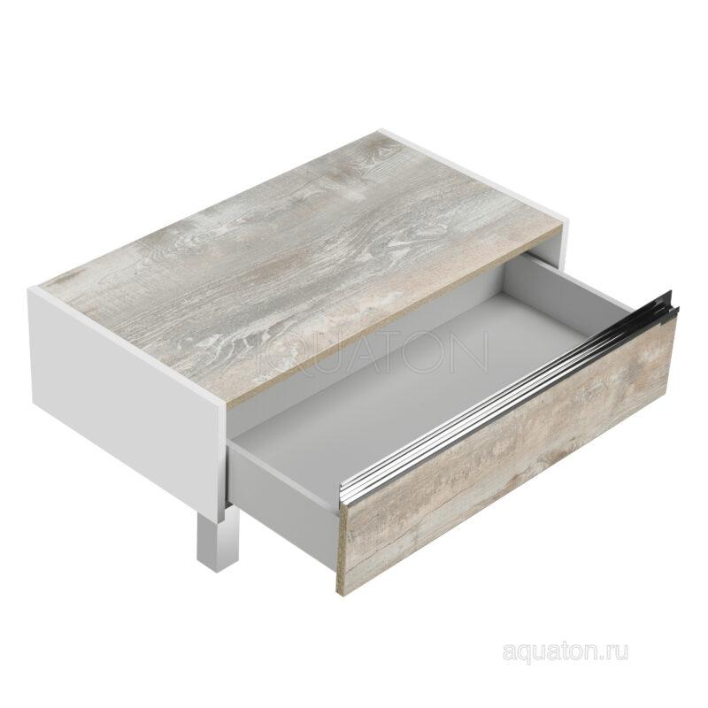 Комод Aquaton Капри 80 бетон пайн 1A231103KPDA0