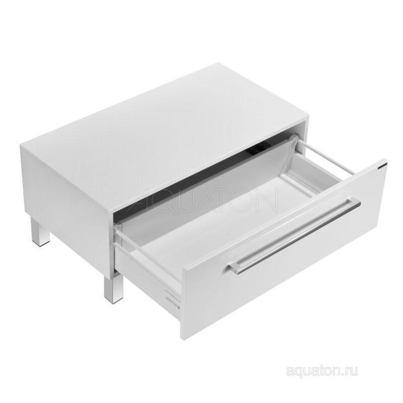 Комод Aquaton Мадрид 80 с ящиком белый 1A131903MA010