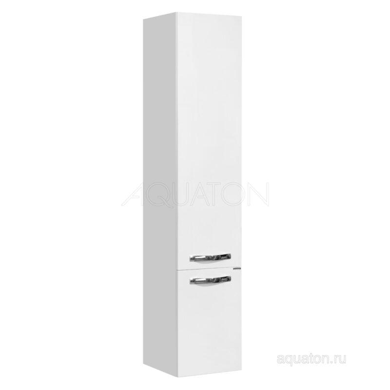 Шкаф - колонна Aquaton Ария М подвесная белый 1A124403AA010