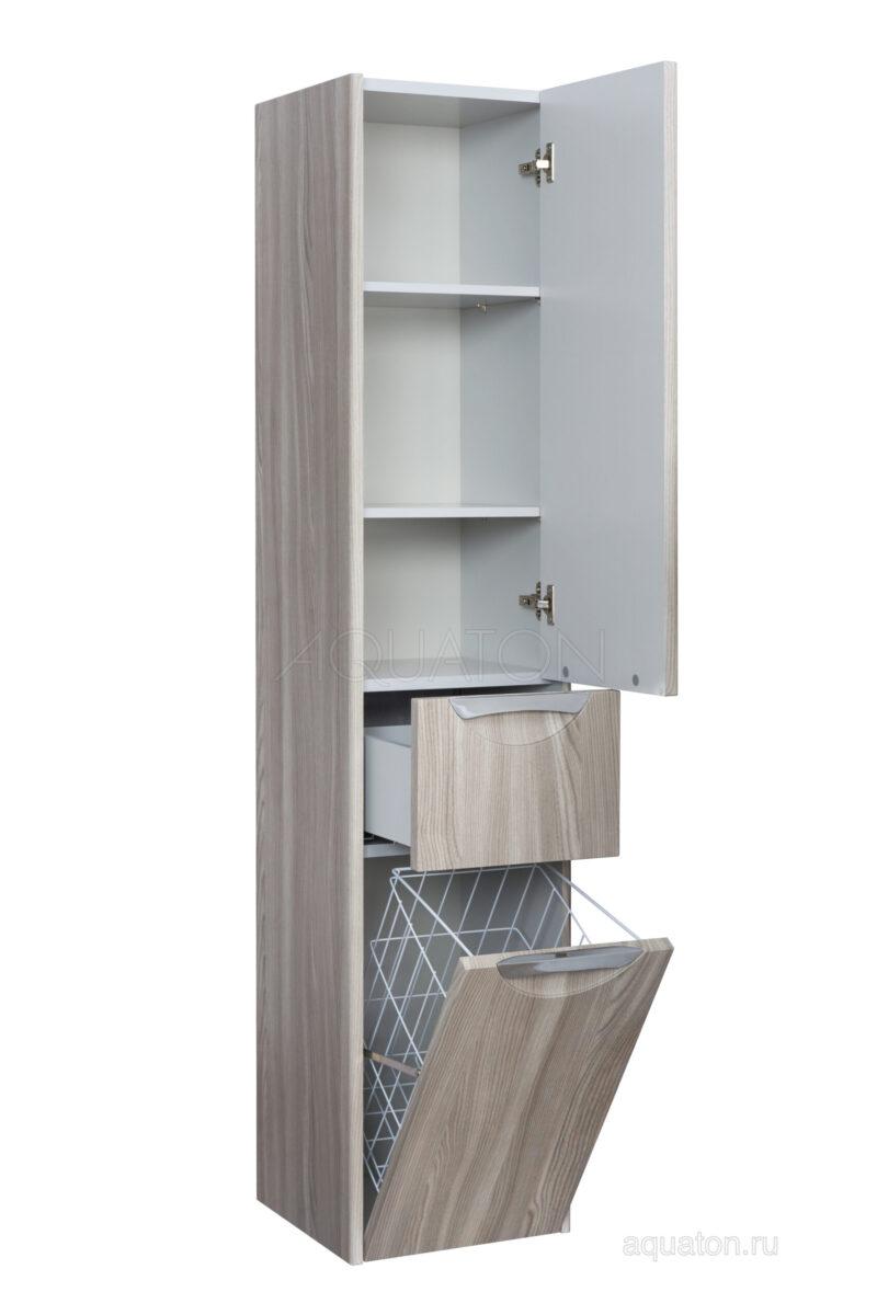 Шкаф - колонна Aquaton Сильва правый дуб фьорд 1A215603SIW6R