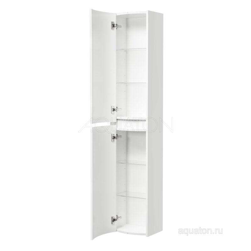 Шкаф - колонна Aquaton Астера левый белый 1A195403AS01L