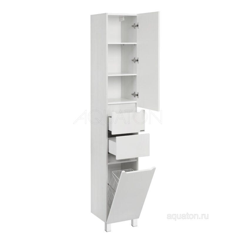 Шкаф - колонна Aquaton Дакота белый