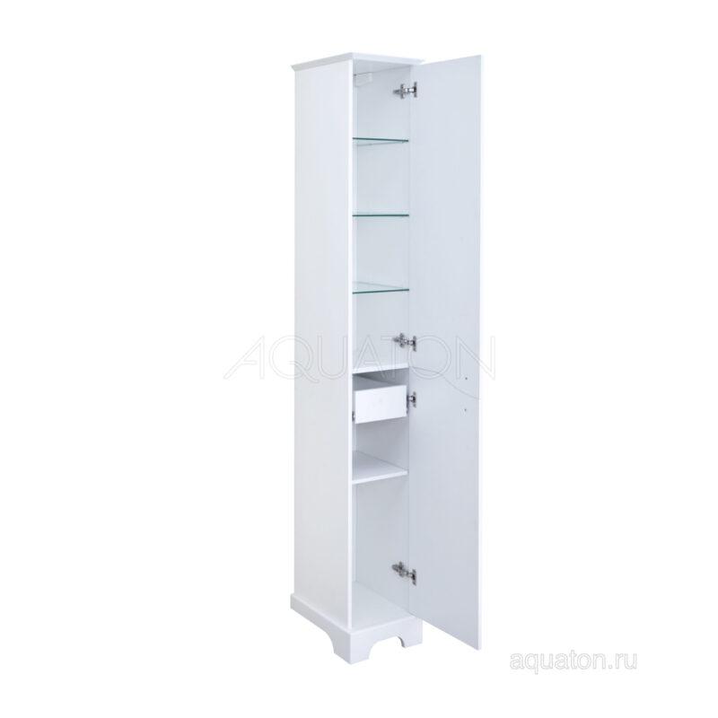 Шкаф - колонна Aquaton Элен правый белый 1A228603EN01R