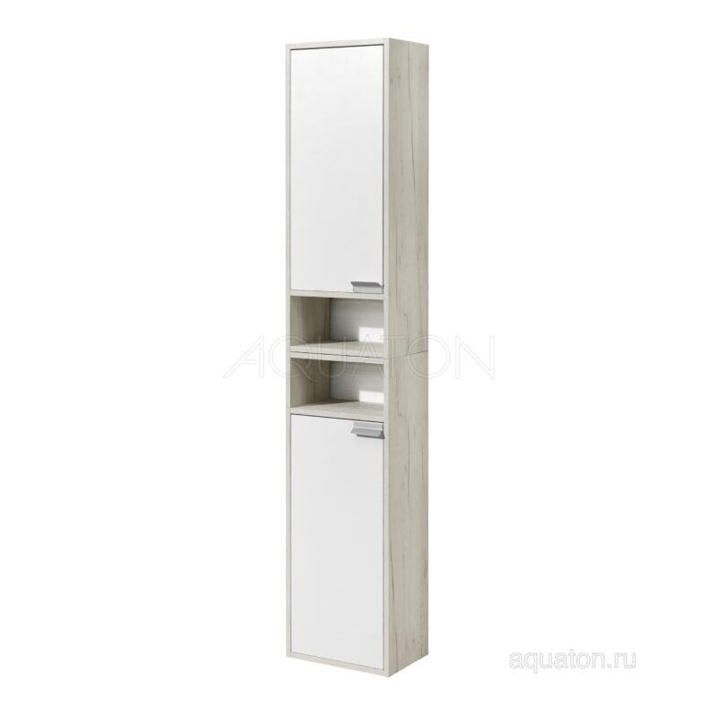 Шкаф - колонна Aquaton Флай 1-створчатый белый