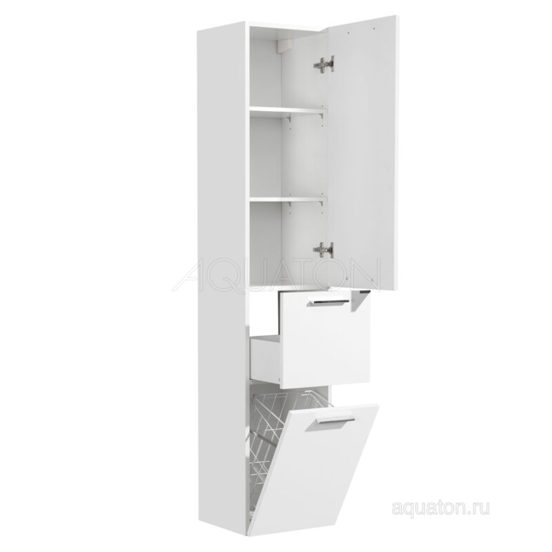 Шкаф - колонна Aquaton Инди белый 1A188603ND010