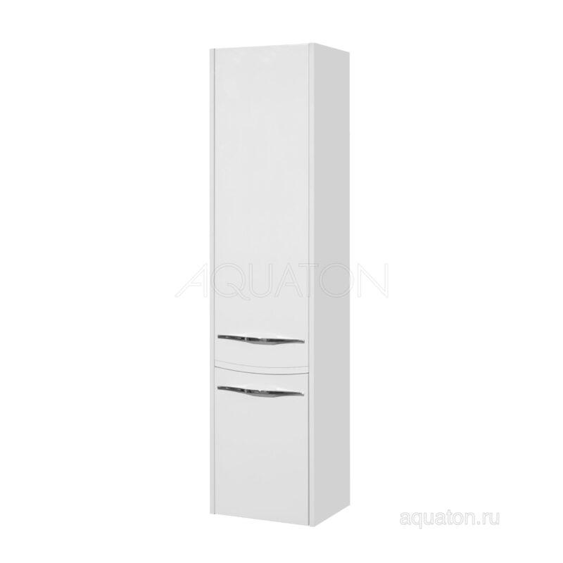 Шкаф - колонна Aquaton Инфинити подвесная левая белый 1A192303IF01L