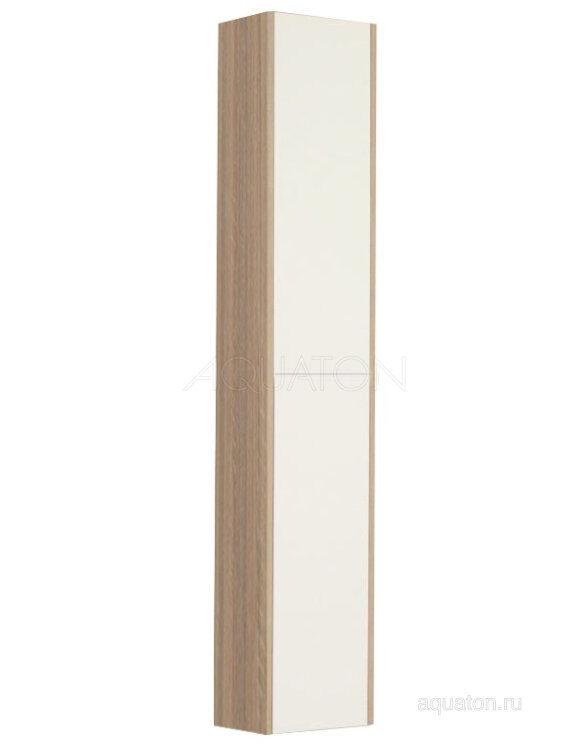 Шкаф - колонна Aquaton Йорк белый