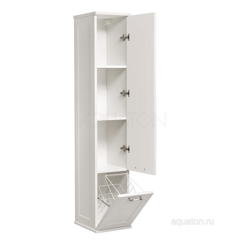 Шкаф - колонна Aquaton Леон дуб белый 1A186503LBPS0
