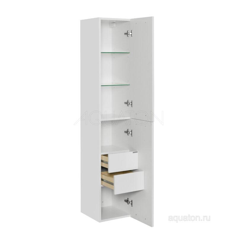 Шкаф - колонна Aquaton Мадрид М белый 1A129603MA010