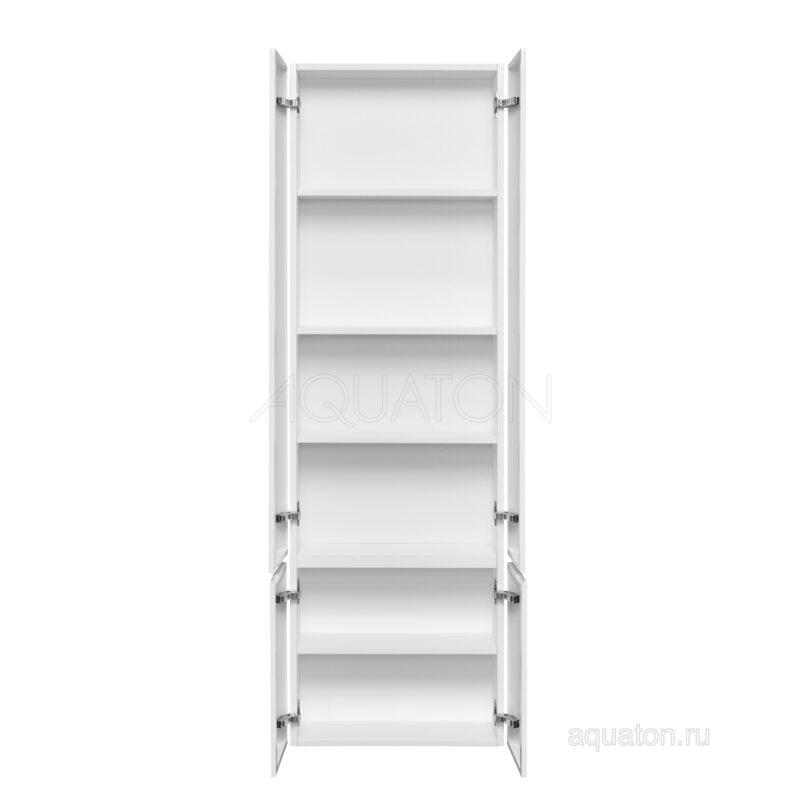 Шкаф - колонна Aquaton Ондина двустворчатая белый 1A175803OD010