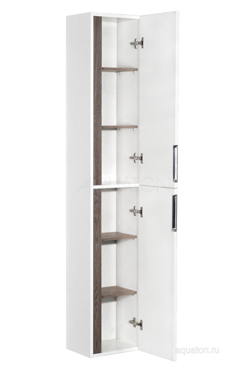 Шкаф - колонна Aquaton Рене белый