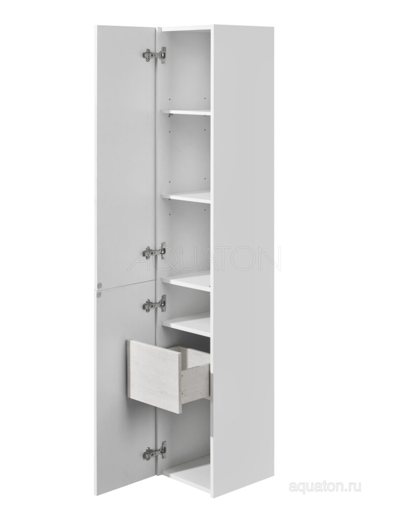 Шкаф - колонна Aquaton Сакура левая ольха наварра